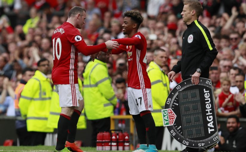 Angel Gomes Catat Rekor Di Manchester United