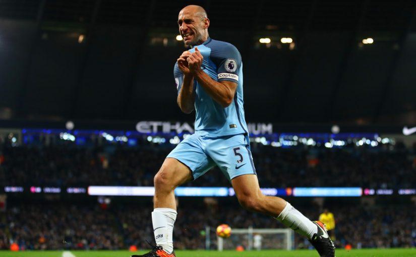 Pablo Zabaleta Resmi Tinggalkan Manchester City